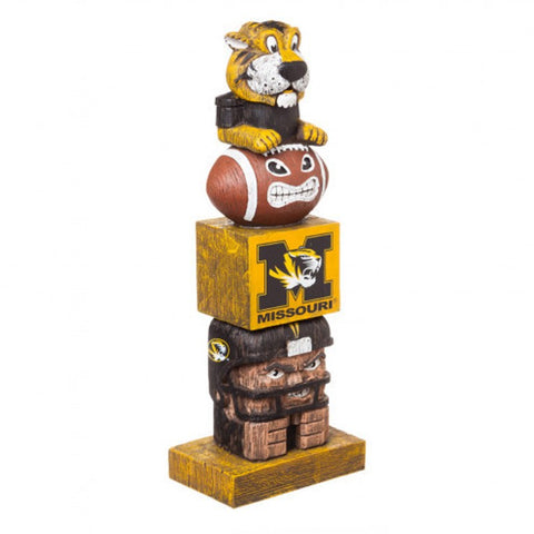 Missouri Tigers Tiki Totem Pole