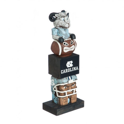 North Carolina Tar Heels Tiki Totem Pole