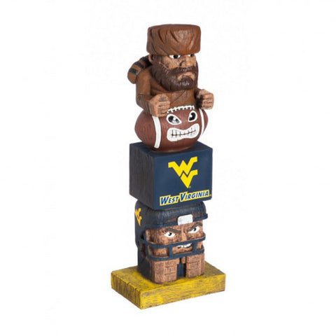 West Virginia Mountaineers Tiki Totem Pole