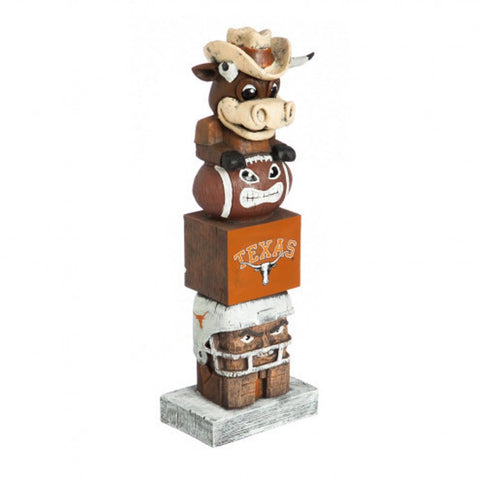 Texas Longhorns Tiki Totem Pole
