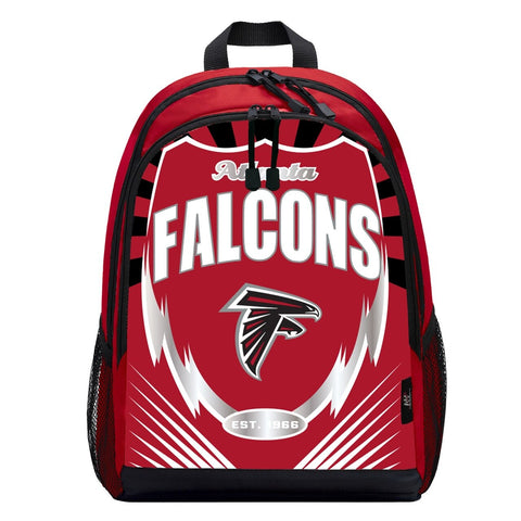 Atlanta Falcons Lightning Graphics Backpack