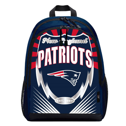 New England Patriots Lightning Graphics Backpack