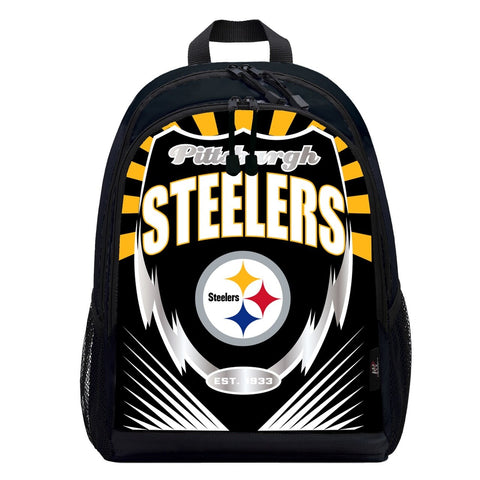 Pittsburgh Steelers Lightning Graphics Backpack