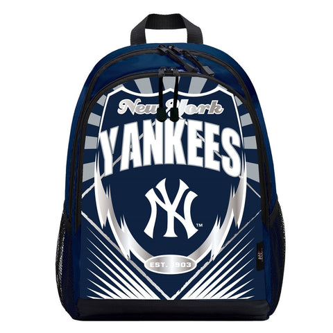 New York Yankees Lightning Graphics Backpack
