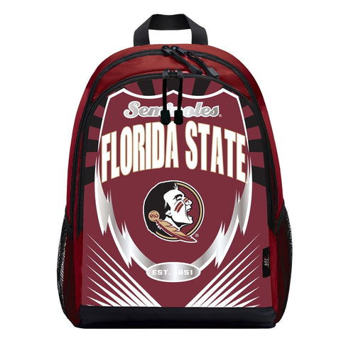 Florida State Seminoles Lightning Graphics Backpack