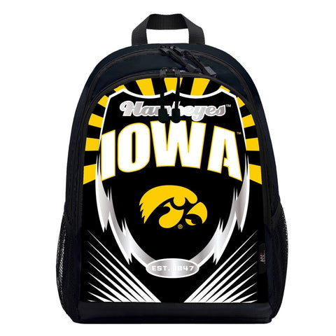 Iowa Hawkeyes Lightning Graphics Backpack