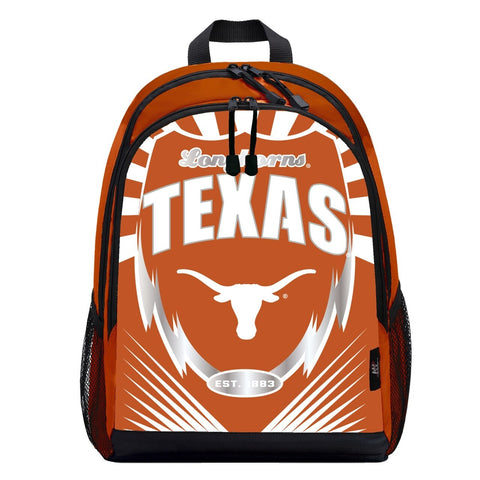 Texas Longhorns Lightning Graphics Backpack