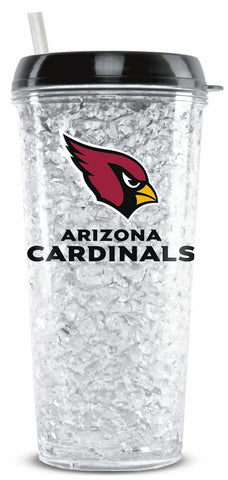 Arizona Cardinals Freezer Tumbler with Lid and Straw