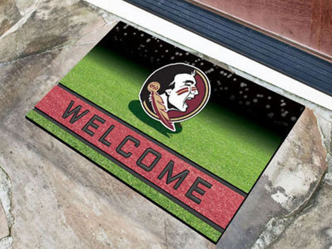 Florida State Seminoles Heavy Duty Crumb Rubber Doormat