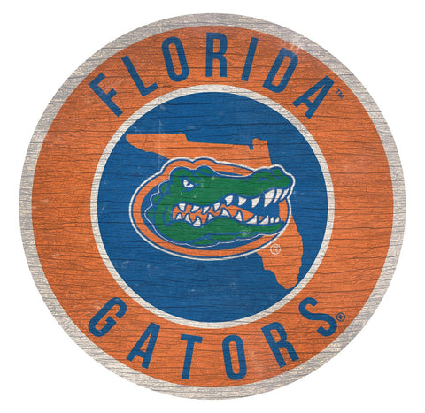 "Florida Gators 12"" Wooden Wall Sign"