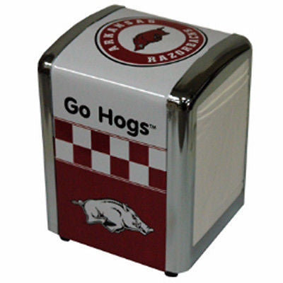 Arkansas Razorbacks Napkin Holder