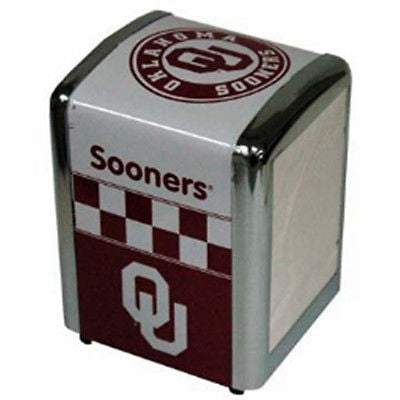Oklahoma Sooners Napkin Holder