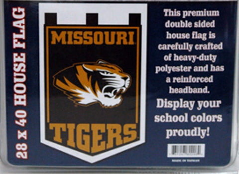 Missouri Tigers Double Sided House Banner Flag