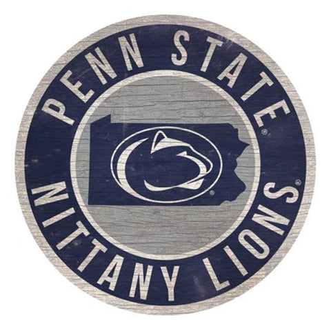 "Penn State 12"" Wooden Wall Sign"