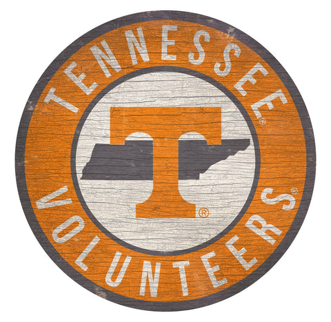 "Tennessee Vols 12"" Wooden Wall Sign"