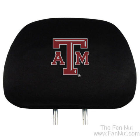 Texas A&M Headrest Covers