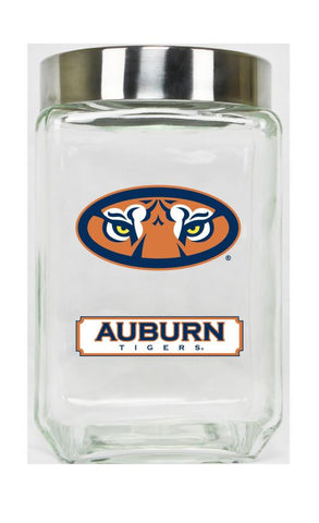 Auburn Tigers Glass Canister Set of 3