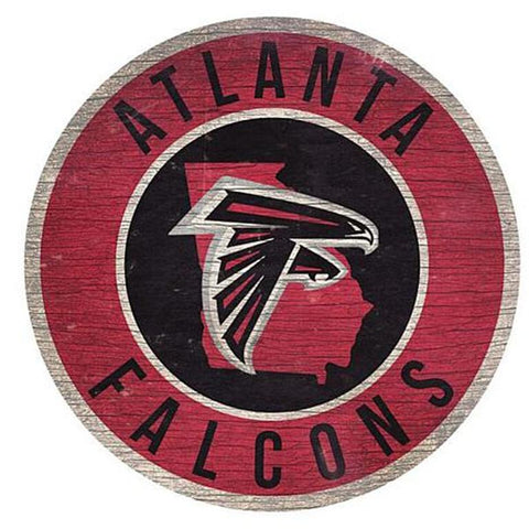 "Atlanta Falcons 12"" Wooden Wall Sign"