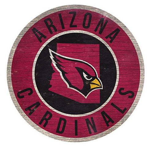 "Arizona Cardinals 12"" Wooden Wall Sign"