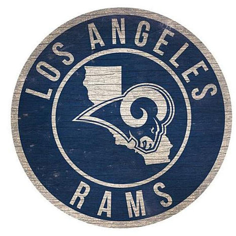 "Los Angeles Ram 12"" Wooden Wall Signs"