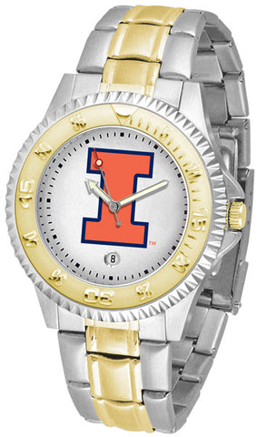 Illinois Competitor Two Tone Stainless Steel Men's Watch