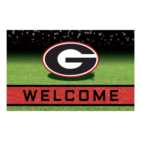Georgia Bulldogs Heavy Duty Crumb Rubber Doormat  OUT OF STOCK