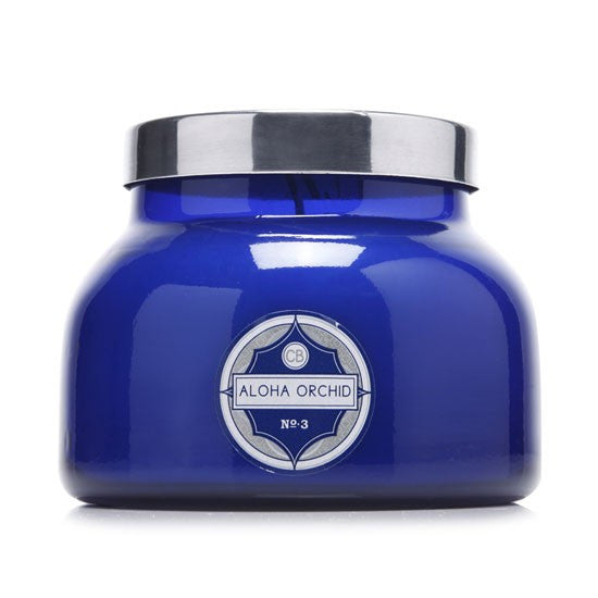 Capri Blue Aloha Orchid Signature Blue Jar