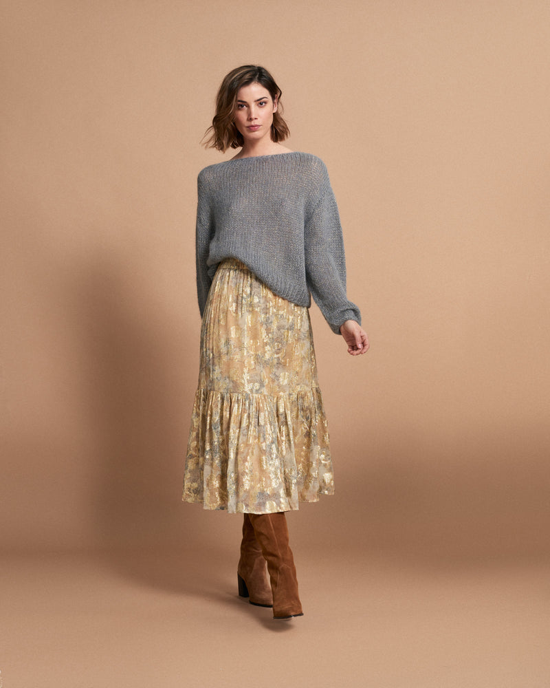 Load image into Gallery viewer, Belle Skirt - Plumes Eclat