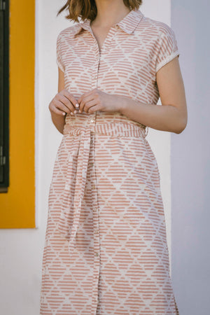 Load image into Gallery viewer, Abigail Dress - Honey Yarn