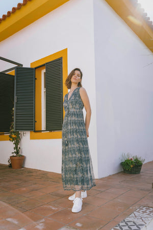 Load image into Gallery viewer, Hanna Dress - Santorini