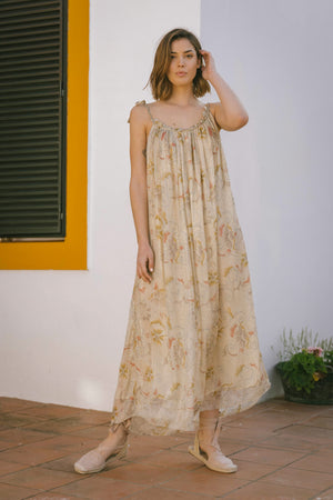 Therese Dress - Ivoire Antique