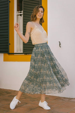 Load image into Gallery viewer, Tawni Skirt - Santorini