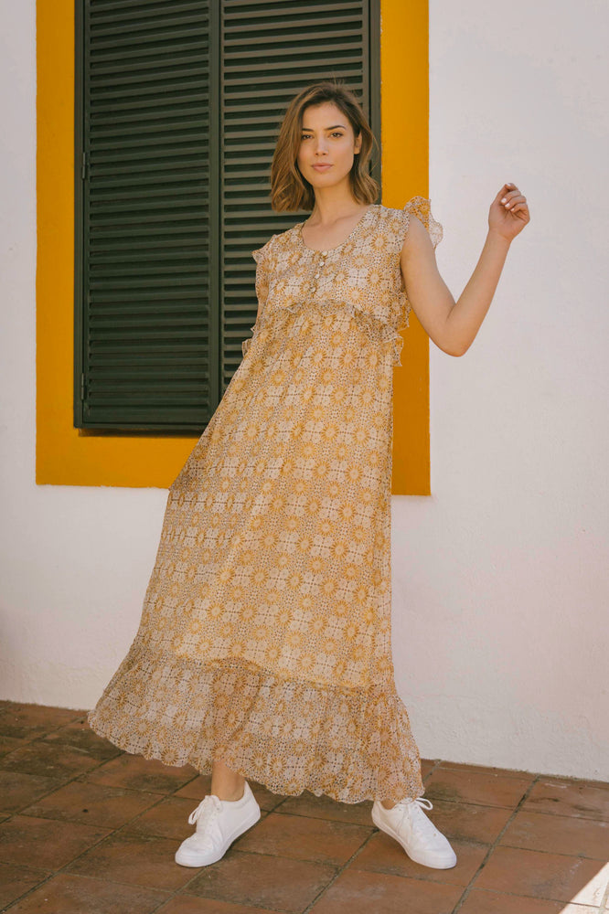 Load image into Gallery viewer, Simone Dress - Pondicherry