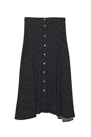 Load image into Gallery viewer, Lucille Skirt - Polka Dots Vivid Noir