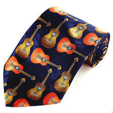 Close-up of Acoustic Guitar Tie