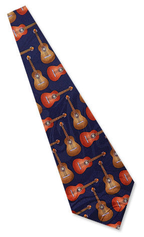 Neckties - Acoustic Guitar Necktie