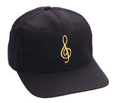 Ball Cap - Black with Gold Ball Cap