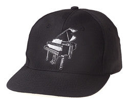 Ball Caps - Black Piano Ball Cap