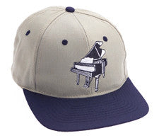 Ball Caps - Khak Piano Ball Cap