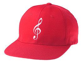 Ball Caps - G-Clef Red Ball Cap
