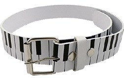 Belts - Piano - Keyboard Leather Belt