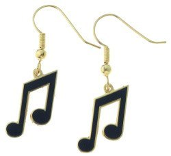 Earrings - 8th Note Earrings