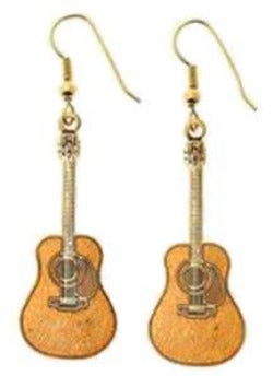 Earrings - Acoustic Guitar Earrings