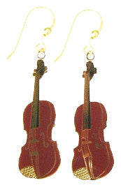 Earrings - Fiddle Earrings