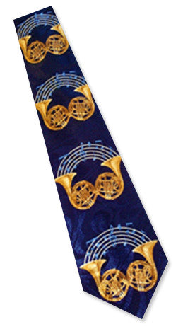 Neckties - French Horn Necktie