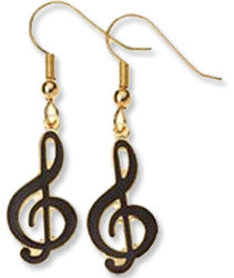 Earrings - G-Clef Earrings