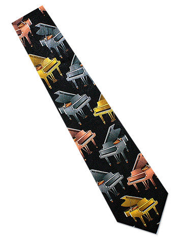 Grand Piano Necktie