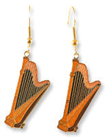 Earrings - Harp Earrings