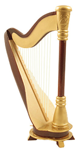 Miniature Musical Instruments - Miniature Harp