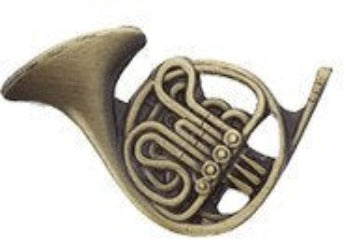 Lapel Pin - French Horn Hat Tack & Lapel Pins